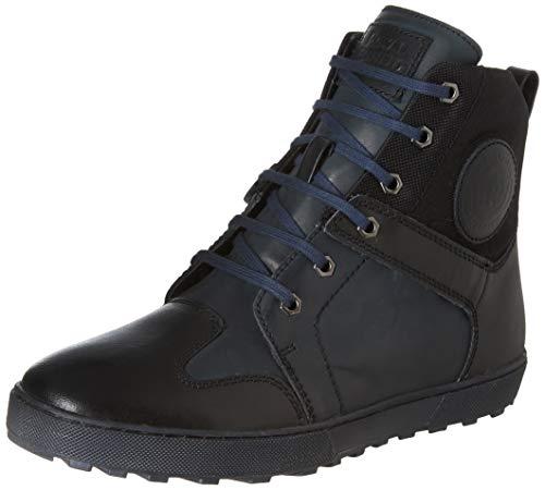 Royal Enfield Men's RLCSHOL00037 Black Leather Outdoor Boots-42 (SHOAW1904)