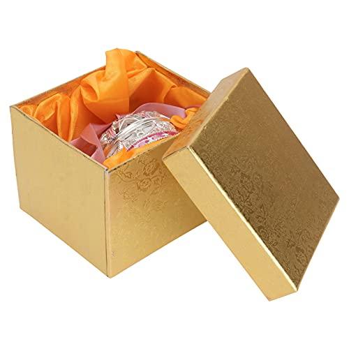 Minkissy Caja de Joyería Decorativa Anillo Caja de Pendientes Collar Caja Colgante Joyería Caja de Regalo para Boda Compromiso Cumpleaños Y Aniversario