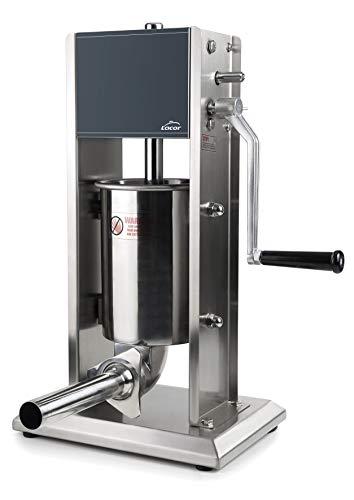 Lacor 60255 Embutidora Manual, Acero Inoxidable 18/10, 5 litros