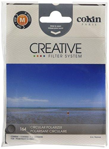 Cokin P164 Filtro Circolare Polarizzato, Diametro 84x84 mm (L'imballaggio può variare)