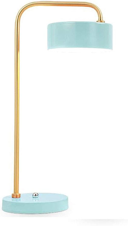 Farbe kreative tischlampe einfache persnlichkeit Macaron tischlampe studie schlafzimmer studie tischlampe 50 cm  24 cm (Farbe   Grün)