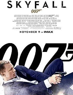 映画ポスター 007 スカイフォール OO7 SKYFALL 24×35.6inc (61×90.5cm) US版 hi1