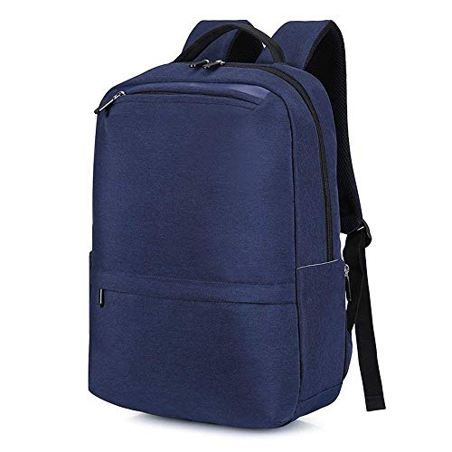 TRE Doingbag Backpack with USB Charging Port Laptop Backpack Travel Bag Camping Outdoor (Grey/Blue/Black) (color : Blue)