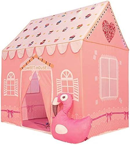 Xing Hua home Kinderzelt Spielzelt Sternenhimmel Kinder Spielzeug Haus Indoor Spielhaus Pop-Up Zelt Heimbelüftung Schloss Kinder Zelt Leseecke Senden Matte Geschenk Für Kinder Spielzelte