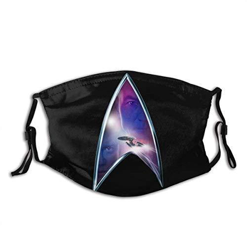 Star Trek Mundschutz Schützen Sie Bequeme atmungsaktive Sicherheit Luftnebel Outdoor Fashion Half Face Shield - für Mann und Frau