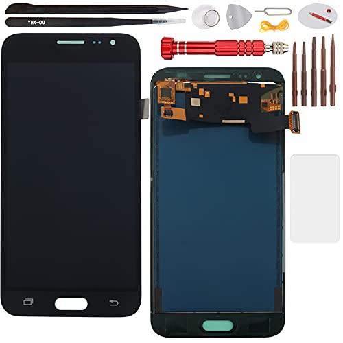 YHX-OU 5 pulgadas para Samsung Galaxy J3 2016 J320A J320FN de reparación y sustitución LCD Pantalla táctil digitalizadora + herramientas incluidas (negro)