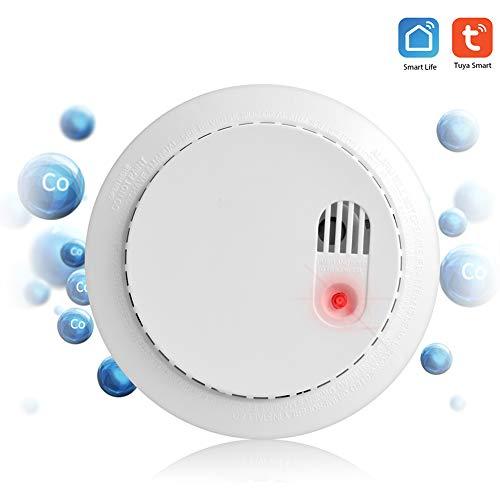 Koolmonoxide rookmelder wifi veiligheidssensor 85 dB alarmsysteem met afstandsbediening