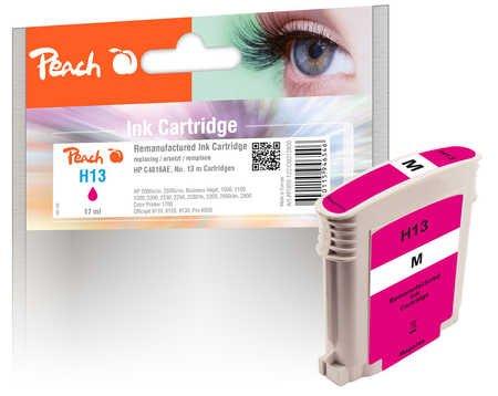 Cartucho de Tinta de Peach Magenta Compatible con HP C4816AE, No. 13