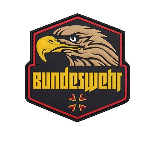 Van Os Emblem 3D PVC Bundeswehr mit Adlerkopf gelb/mehrf. #20076