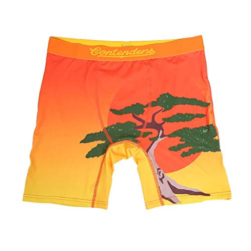 Contenders Clothing The Karate Kid - Bonsai! Boxer Briefs Orange