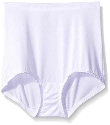 Hanes Women`s Shaper Brief White