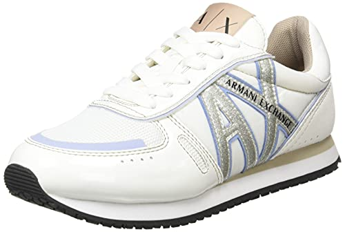 Armani Exchange Comfort with A Twist, Zapatillas Mujer, K641, 40.5 EU