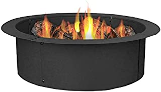 natural gas fire pit pan