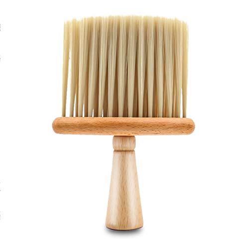 Nackenpinsel Rosshaar Friseur Neck Duster Haarbürste Nackenpinsel Bürste Haarschneidebürsten Barber Halsbürste Friseur Haar Reinigung Pinsel Salon Haarreinigung Holzkehrbürste Professionelle