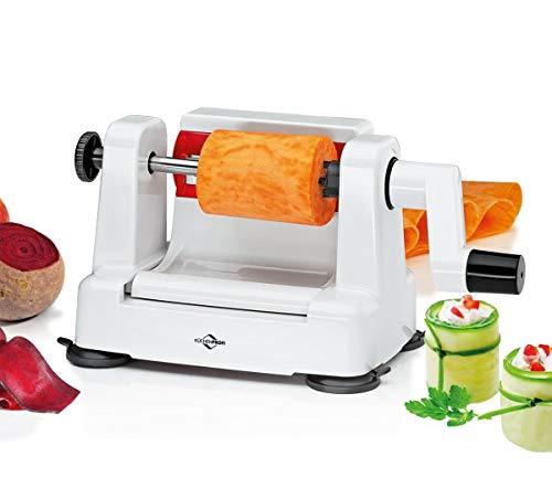 Küchenprofi Gemüseblattschneider-1310802200 Tagliaverdure, Acciaio Inox, Bianco, Normale
