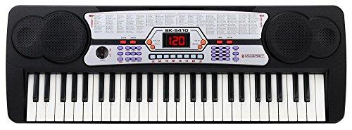 McGrey BK-5410 Keyboard (54 Tasten, 100 Klangfarben, 100 Rhythmen, Lernfunktion, Mikrofon, Netzteil, Notenständer)