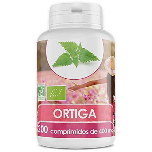 Ortiga Orgánica - 400 mg - 200 comprimidos