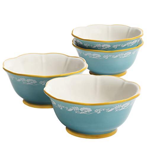 The Pioneer Woman Spring Bouquet 6.75-Inch Bowls, Set of 4