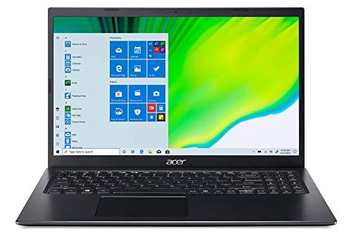 Acer Aspire 5 A515-56-31AD - Ordenador portátil (Intel Core i3-1115G4, RAM de 8 GB, SSD de 256 GB, Intel UHD Graphics, Windows 10) - Teclado AZERTY (francés), Color Negro