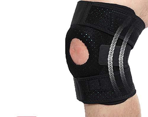 Knieschoner Sport Knieschützer XL Laufen Knieschutz Schutzausrüstung Basketballjacke Plus Dünger Extra Large Warm Knieschützer,XL