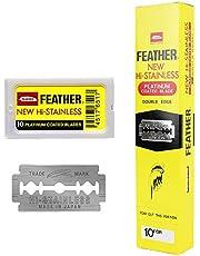 Feather Double Edge scheermesjes, 200 stuks