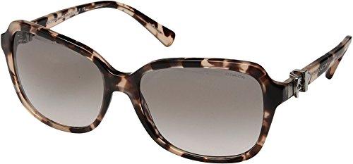 Coach - Damen Hc8179 58 L1598 Sonnenbrille, 58 mm Damen, Beige (Peach Tortoise), Einheitsgröße