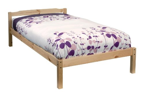 Noa and Nani - Sussex 3ft Single Bed - (Natural Pine)