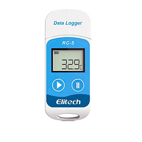 LANIAKEA RC-5 USB Hohe Genauigkeit Temperatur Datenlogger, 32000 Punkte Record Kapazität