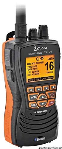 Cobra marine VHF MR HH 600 GPS BT EU Nero MR HH600 GPS BT EU VHF