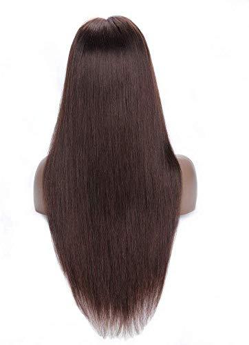 Pelucas lace front natural lisa pelucas humanas naturales mujer largas pelucas pelo naturales 100% human hair wigs straight pelucas de pelo humano remy 150% density 22inch-55cm