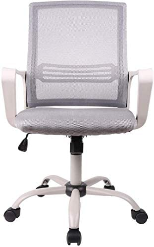 Best Smugdesk Office Chair, Mid-Back Breathable Mesh Office Desk Computer Desk Chair with Lumbar Support