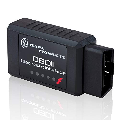 Bafx Products Wireless Bluetooth Obd2 Scanner Diagnostic Code Reader & Scan Tool for Android Devices Only - Scan, Reset & Clear Car Check Engine Light