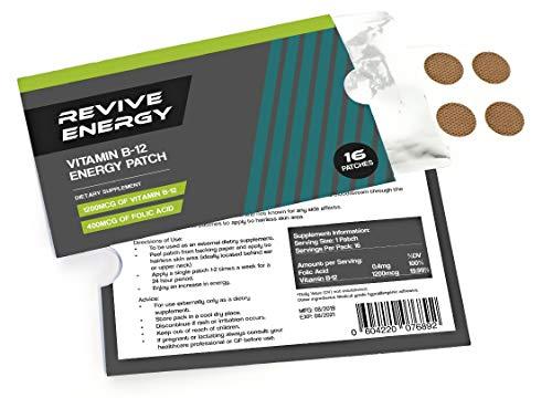 Revive Energy Vitamin B12 1200 µg Energiepflaster, 16 Stück