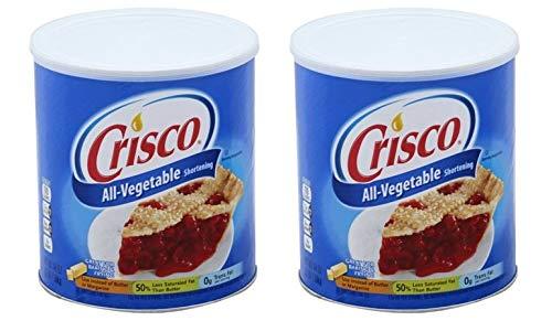 Crisco Vegetable Shortening, 48 fl oz (Pack of 2)