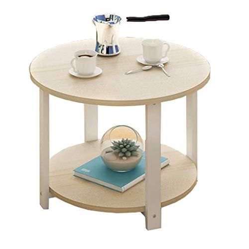 FENXIXI Piccolo Tavolino, Tavolino Moderno Comodino Rotonda Laterale Fine Accent Tavolino for Soggiorno Camera da Letto Balcone
