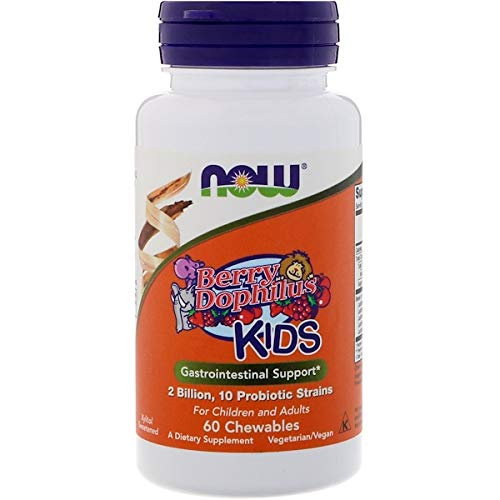 Now Foods BerryDophilus, 60 Count (Pack of 2)