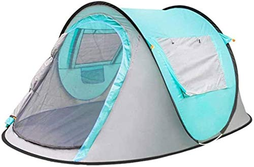Plztou Tent for Camping Innovative Hydraulic Automatic Camping Pop-up Tent, Waterproof for 2-3 People Instant Setting Hydraulic Tent Double-layer Dome Tent Lightweight Family Tent, Used For Outdoor