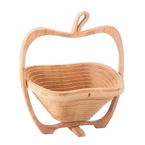(トスダイス) tossdice フォールディングバンブーフルーツバスケット りんご