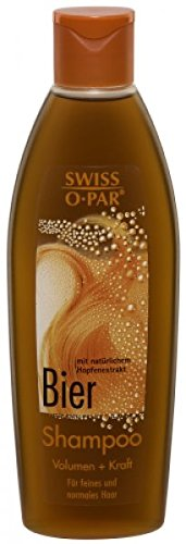 Swiss-o-Par 4 x Bier Shampoo - á 250 ml (1 Liter)