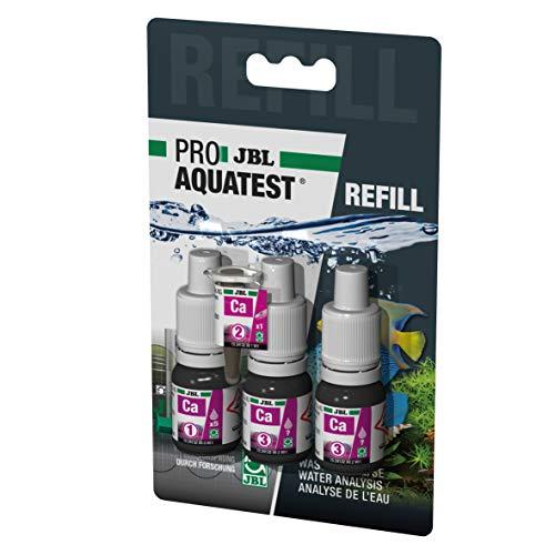JBL Wassertest-Nachfüller, Für Meerwasser-Aquarien, ProAquaTest Ca Calcium Refill, 3 Stück
