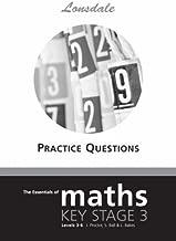 Lonsdale KS3 - KS3 Maths Levels 3-6 Practice Questions (Lonsdale KS3 Maths) by Lonsdale Revision Guides (1990-01-01)