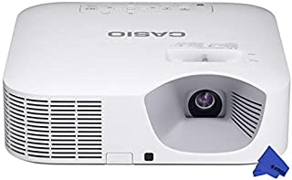 Casio XJ-V110W LED WXGA Projector + PSC Lens Cloth (3,500 Lumens)