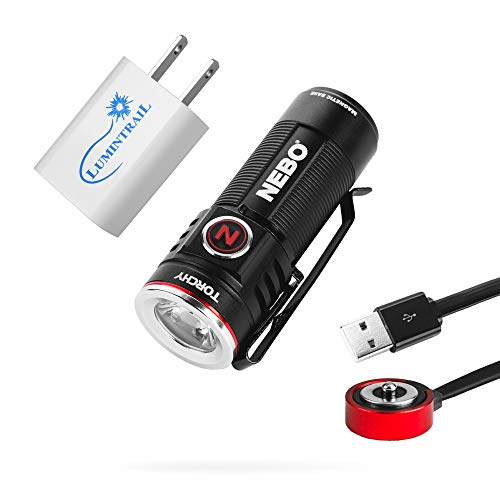 Nebo Torchy Rechargeable Flashlight 1000 Lumen Pocket Light Bundle...