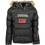 Geographical Norway Chaqueta de hombre BOKER NEGRO talla M