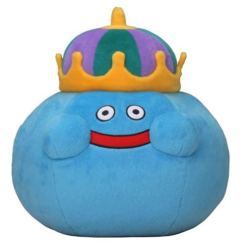 Dragon Quest Smile Slime Plush Doll King Slime Cartoon Anime Plush Stuffed Toys Baby Birthday Gifts for Kids 25cm