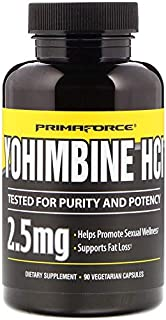 Primaforce, Yohimbine HCl Weight Loss Capsules, 90 Count by Primaforce