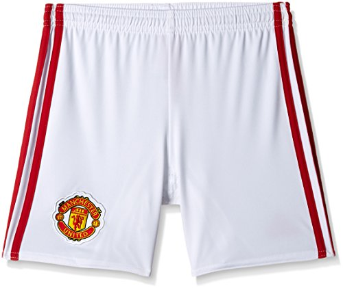 adidas Kinder Manchester United Shorts, White/Real Red, 164