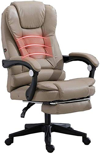 aipipl Cozy Office Chair Gaming Chair Executive Recline With 72 Cm High Back And Tilt Function PU Task Desk Chair And Recliner Bearing Weight 150kg