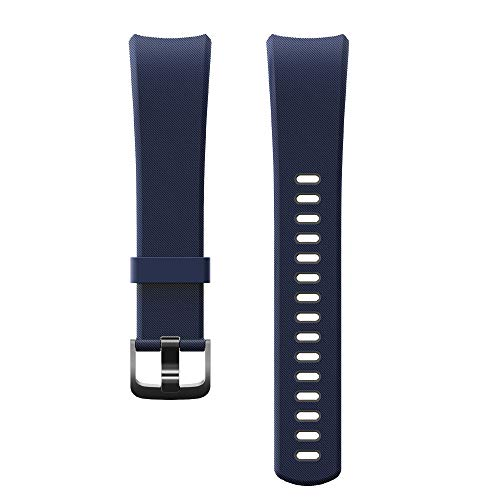YAMAY Replacement Straps Band for SW351 Fitness Tracker (Blue Black)