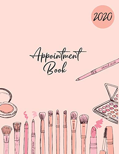 2020 Appointment Book: Large Diary with 15 Minute Time Slots : 8AM - 9PM : 6 Days At A Glance